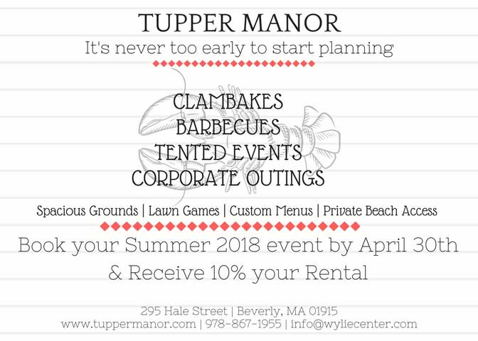 Corporate Outings at Tupper Manor